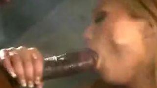 Hot interracial shower scene 1